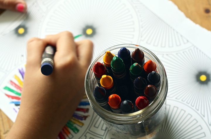 Arts And Crafts Child Close Up Color 159579