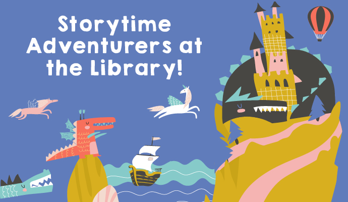 Storytime Adventurers Website Webtile